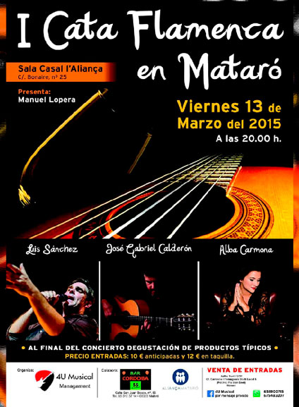 Certamen Cita Flamenca- 1 edición